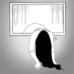 Sadako or Samara - Inktober 2017