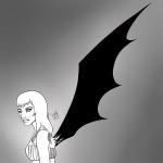 Bat - Inktober 2017