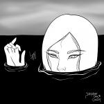 Drown- Inktober 2017