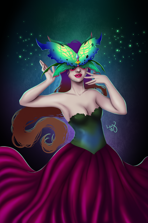 Masquerade - Digital Painting